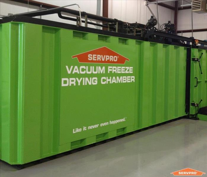 Why SERVPRO The Importance of Document Drying