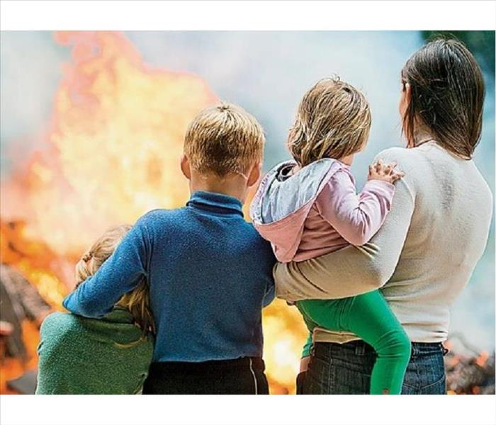 Fire Damage Fire Prevention Week: Plan Two Ways Out